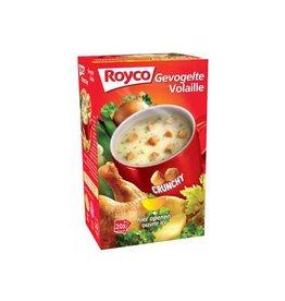 Royco Royco Minute Soup doos met 20 zakjes, gevogelte + korstjes