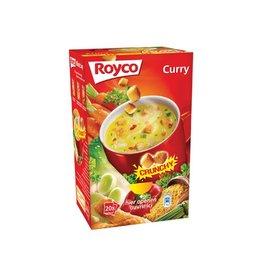 Royco Royco Minute Soup doos met 20 zakjes, curry + korstjes