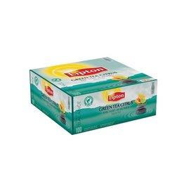 Lipton Lipton thee, Green Tea Citrus, pak van 100 zakjes