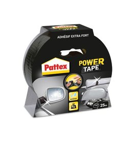Pattex Pattex plakband Power Tape lengte: 25 m, zwart