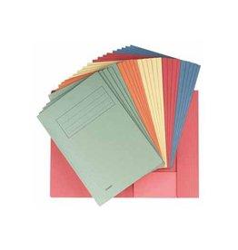 Classex Class'ex dossiermap geassorteerde kleuren, ft folio, pak van