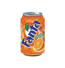 Coca Cola Company Frisdranken Fanta Orange, pak van 24 stuks