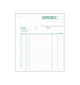 Exacompta Exacompta bestellingen, 21 x18cm,bilingue, dupli (50 x2vel)