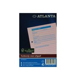 Atlanta Atlanta blok kasbewijs voor uitgave