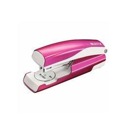 Leitz Leitz NeXXt WOW 5502 nietmachine, roze metallic, op blister
