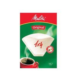 Melitta Melitta koffiefilter 1 x 4, pak van 40 stuks