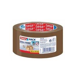 Tesa Tesa verpakkingsplakband ft 50 mm x 66 m, PVC, bruin [6st]