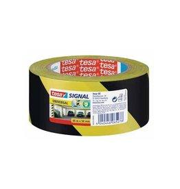Tesa Tesa signalisatietape ft 50 mm x 66 m, geel/zwart