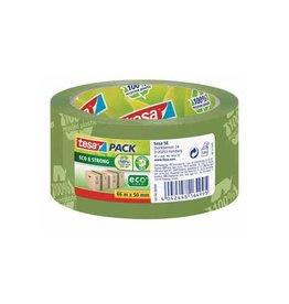 Tesa Tesa verpakkingsplakband Eco,ft 50 mm x 66 mm, groen [6st]