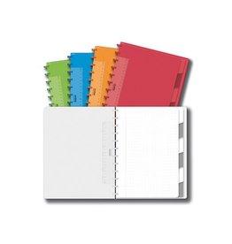 Adoc Adoc Schrift Colorlines ft 21 x 29,7 cm (A4), geruit 5 mm