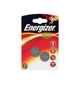 Energizer Energizer knoopcellen Lithium Electronics CR2032, 2 stuks