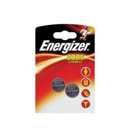 Energizer Energizer knoopcellen Lithium Electronics CR2025, 2 stuks