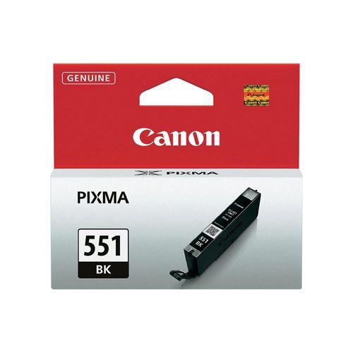 Inkcartridge Canon CLI-551BK zwart