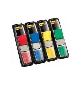 Post-it Post-it Notes Smal, 12x43mm, 4 kl., 35 tabs per kleur