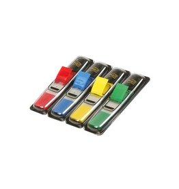 Post-it Post-it Index Smal, 12x43mm, 4 kl., 35 tabs per kleur, 4 + 2