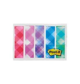 Post-it Post-it Index,plaid motive collection, 11,9 mmx43,2mm,5x20st