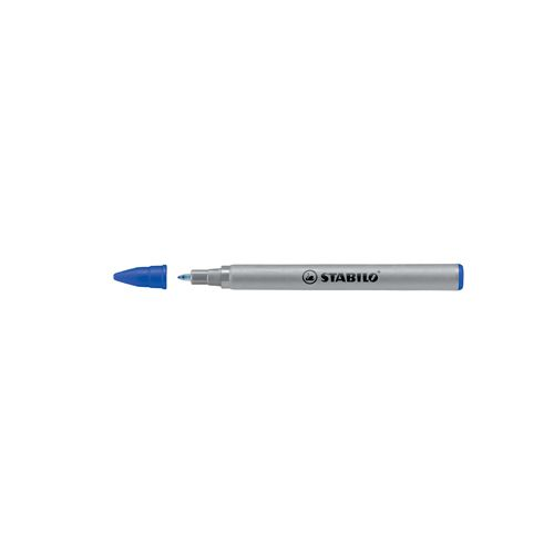 Rollerpenvulling Stabilo Easy Original blauw 0.3mm