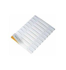 Jalema Hechtstrip Jalema zelfkl wit 100st