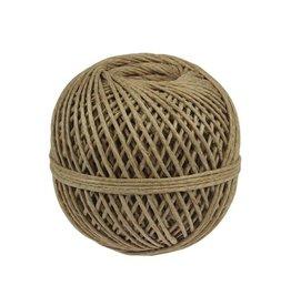 Fijn koord touw uit 3 draden, bol van 140 g, +/- 65 m
