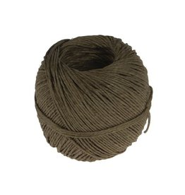 Fijn koord touw uit 2 draden, bol van 100 g, +/- 90 m