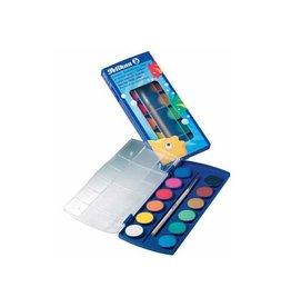 Pelikan Pelikan verfdoos plakkaatverf Paintbox 12 napjes