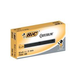Bic Conté criterium Gilbert mines etui 6 potloodstiften 2mm