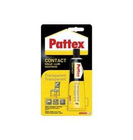Pattex Lijm Pattex transparant tube 50gr