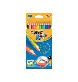 Bic Kids Bic Kids kleurpotlood Ecolutions Evolution, doos van 12 stuk