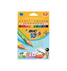 Bic Kids Bic kleurpotlood Ecolutions Evolution Triangle 12 potloden i