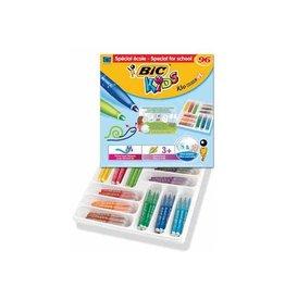 Bic Kids Bic Kids viltstift Kid Couleur XL 96 stiften (classpack)