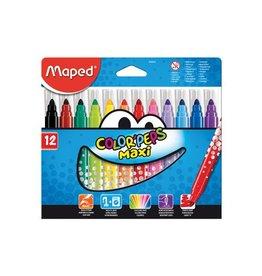 Maped Maped viltstift Color'Peps Maxi