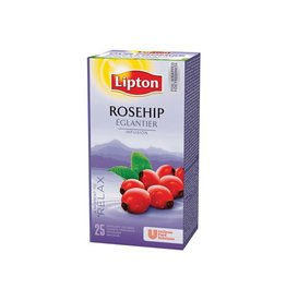 Lipton Lipton thee, rozebottel, pak van 25 zakjes