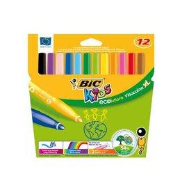 Bic Kids Bic Kids Viltsti Visacolor XL Ecolutions 12 stien