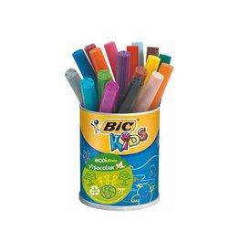Bic Kids Bic Kids Viltstift Visacolor XL Ecolutions 18 stiften in een