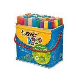 Bic Kids Bic Kids Viltstift Visacolor XL Ecolutions 48 stiften in een