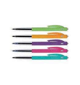 Bic Bic balpen M10 Clic Colors doos van 50 stuks