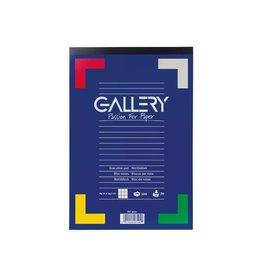 Gallery Gallery schrijfblok ft 21 x 29,7 cm (A4), geruit 5 mm