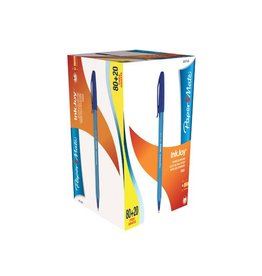 Papermate Balpen Papermate inkjoy 100 cap medium b