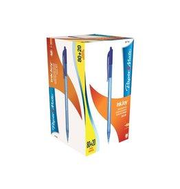 Papermate Balpen Papermate inkjoy 100 rt medium bl