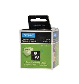 Dymo Dymo etiketten LabelWriter ft 89 x 28 mm, wit, 260 etiketten