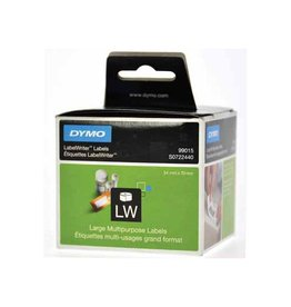 Dymo Dymo etiketten LabelWriter ft 70 x 54 mm, wit, 320 etiketten
