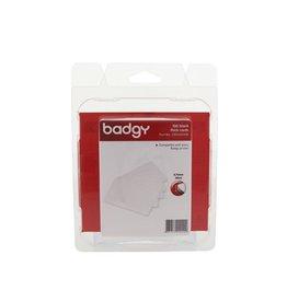 Badgy Badgy 100 blanco, dikke kaarten van 0,76 mm, voor Badgy 100