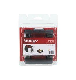Badgy Kaartprinter badgy 200 kleurencartridge cmyk