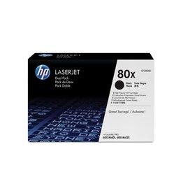 HP Duopack HP 80X Black 2x 6,9K
