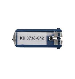 Durable Durable sleutelhanger Key Clip, blauw, pak van 6 stuks