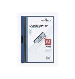 Durable klemmap durable 2200 a4 3Mm blauw