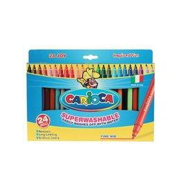 Carioca Carioca Viltstift Joy Superwashable 24 stiften in een karton