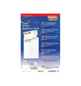 Decadry Decadry visitekaarten TopLine 500 kaartjes (10 kaartjes ft 8
