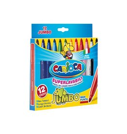 Carioca Carioca viltstift Jumbo Superwashable 12 stiften in een kart