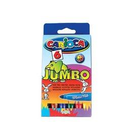 Carioca Carioca viltstift Jumbo Superwashable 6 stiften in een karto